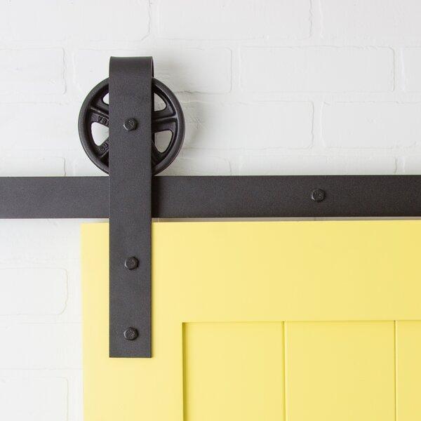Artisan Hardware Vintage Strap Sliding Barn Door Hardware U0026 Reviews    Wayfair