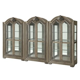 Braddy Lighted Curio Cabinet