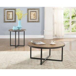 Susanna 2 Piece Coffee Table Set Gracie Oaks