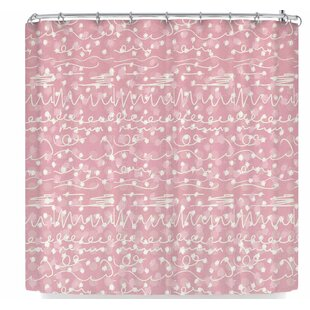 Elena Ivan - Papadopoulou Crazy Pat Single Shower Curtain