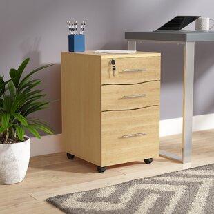 Denzel 3 Drawer Filing Cabinet By 17 Stories