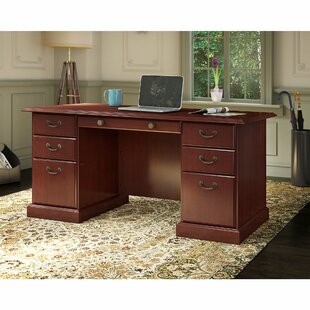Bennington 2 Piece Desk Office Suite by Kathy Ireland Office by Bush