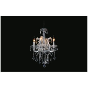 Astoria Grand Orr 4-Light Candle Style Ch..