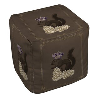 Luxury Lodge Squirrel Pouf by Manual Woodworkers & Weavers