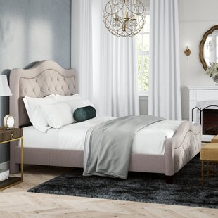 Chereen California King Upholstered Panel Bed