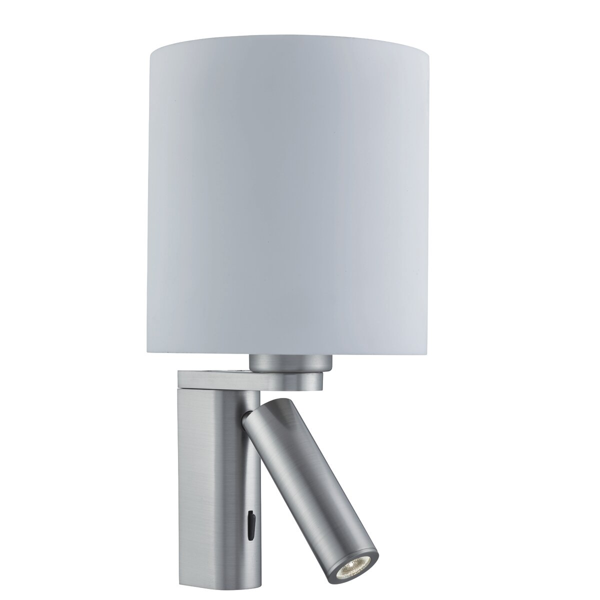 Searchlight Cylinder Arm LED 1 Light Up and Downlight | Wayfair.co.uk