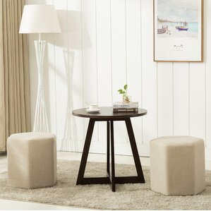 Horrocks 3 Piece Hexagon Ottoman Set by Brayden Studio