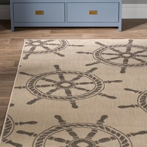 Valero Natural Indoor/Outdoor Area Rug