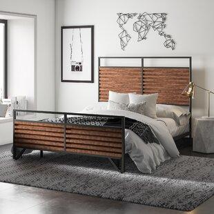 Lund Sleigh Bed by Mercury Row