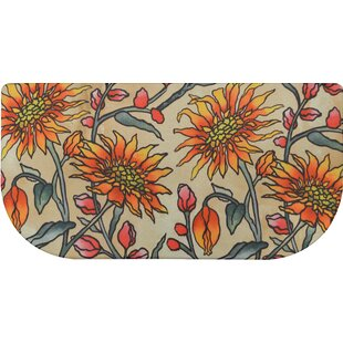 Charmant Cook N Comfort Daisies Slice Kitchen Mat