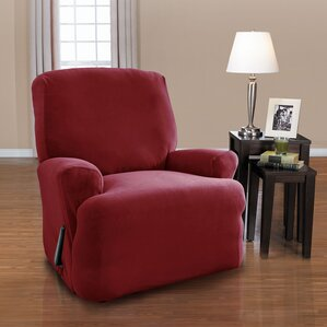 Harper T-Cushion Recliner Slipcover Set by C..