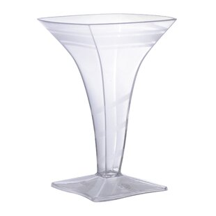 Tiny Temptations Plastic Disposable Martini Glass (Set of 96)