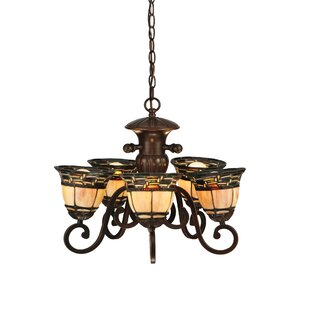 Meyda Tiffany Ilona 5-Light Shaded Chandelier