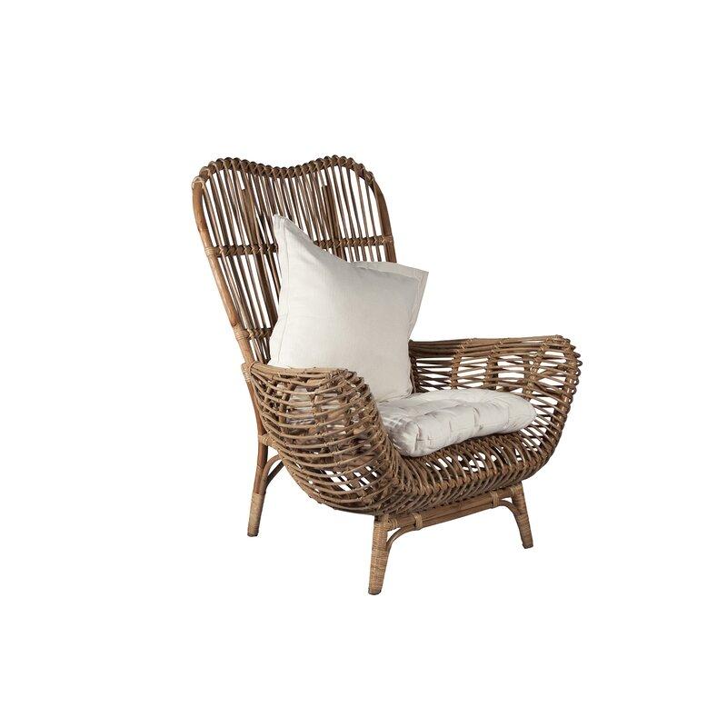 Etonnant Round Back Rattan Chair