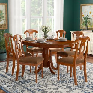 Stella 7 Piece Extendable Dining Set DarHome Co