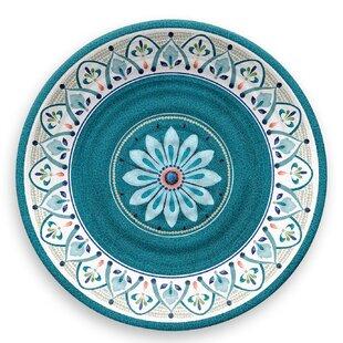 Moroccan Medallion 27cm Melamine Dinner Plate (Set Of 4) By Tar Hong