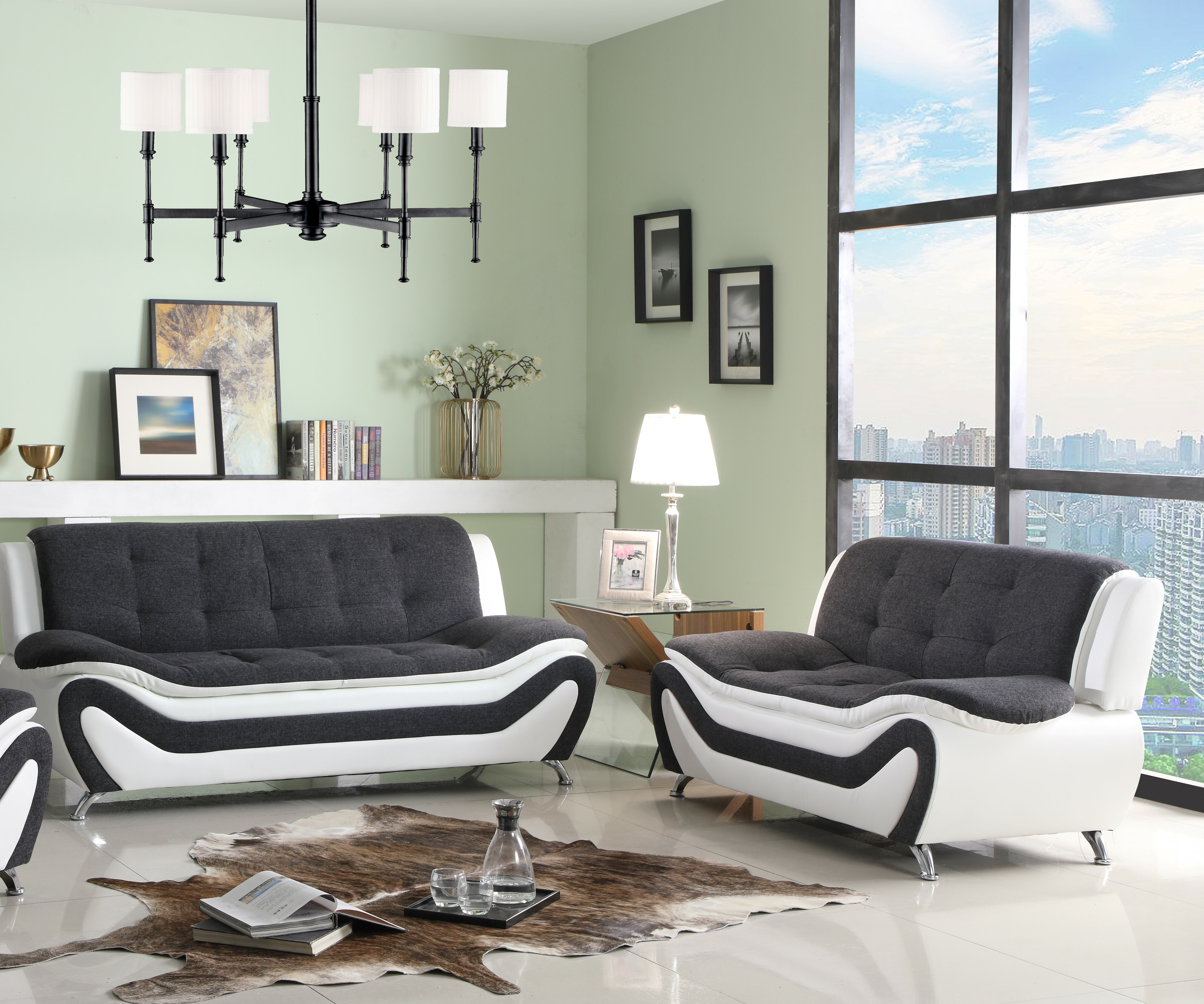 Obermeyer 2 Piece Living Room Set