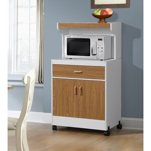 Raubsville Microwave Cart by Andover Mills Best Reviews
