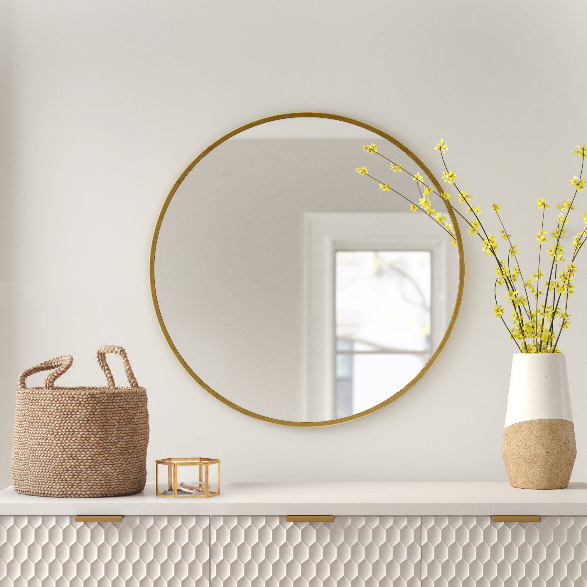 Foundstone Glam Accent Mirror Reviews Wayfair