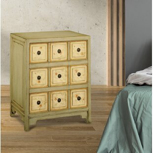 Millie 3 Drawer Nightstand by Rosalind Wheeler