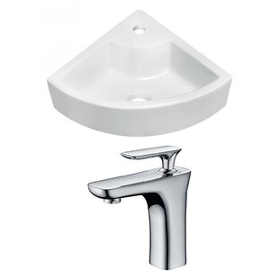 Clearance Above Counter Ceramic Specialty Vessel Bathroom Sink with Faucet ByRoyal Purple Bath Kitchen