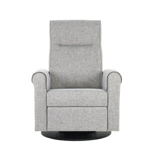 Nolita Upholstered Swivel Reclining Glider