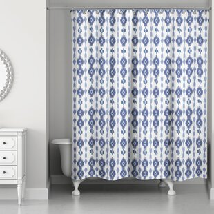 Cape Southwest Ikat Single Shower Curtain