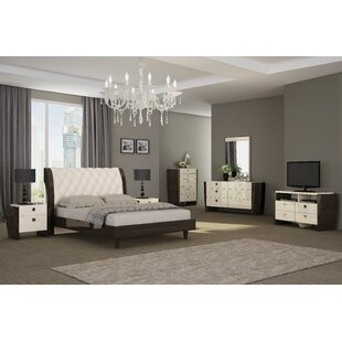 Hailee Platform 4 Piece Bedroom Set