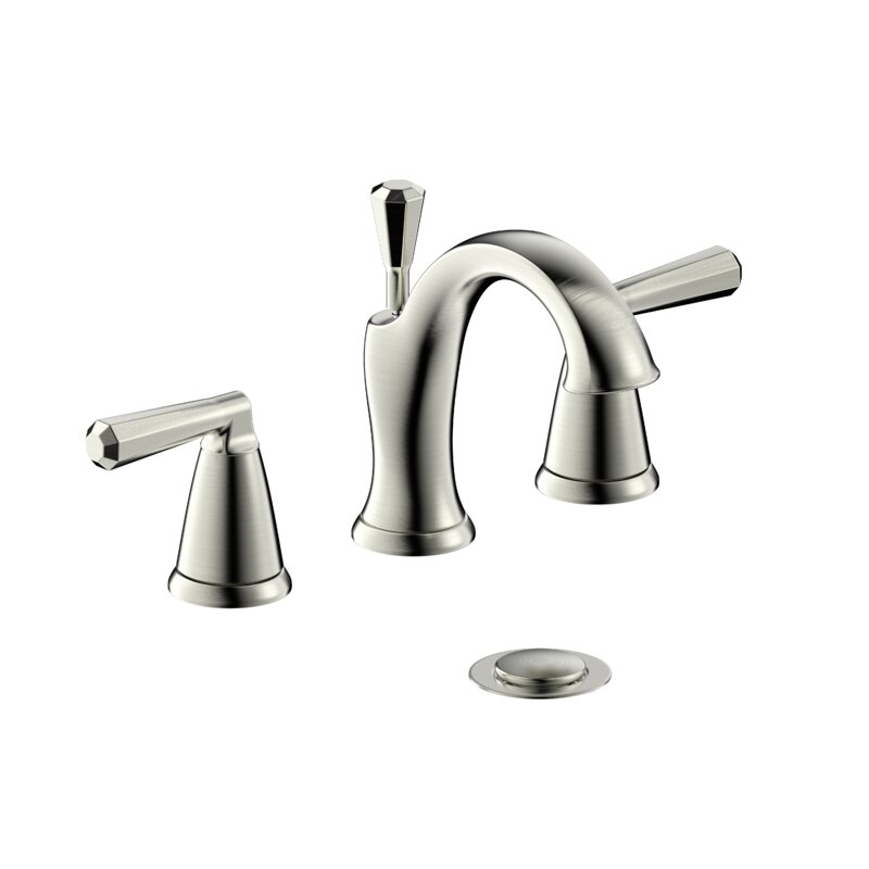 Ultra Faucets Z Two Handle Lavatory Widespread Bathroom Faucet With Drain Assembly Reviews Wayfair