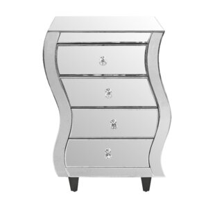 Ace 4 Drawer Bedside Table By Willa Arlo Interiors