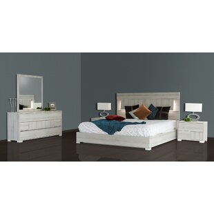 Febus Platform 5 Pieces Bedroom Set