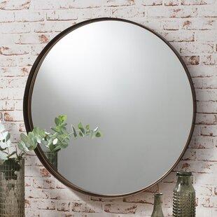 gray wall mirror bedroom antlia mirror wall mirrors youll love wayfaircouk