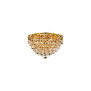 House of Hampton Zoila 6-Light Crystal Chandelier