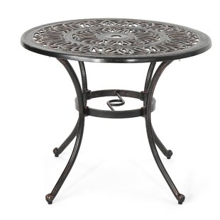 Stein Metal Dining Table by Bloomsbury Ma..