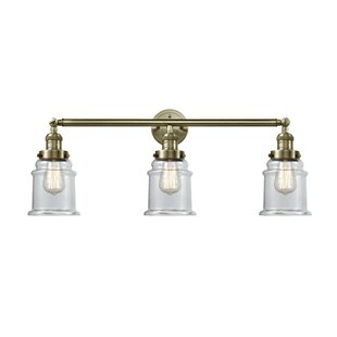 Laurel Foundry Modern Farmhouse Greeley 3-Light Vanity Light