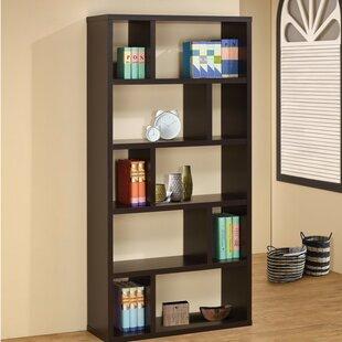 Stadtfeld Rectangular Geometric Bookcase by Ebern Designs