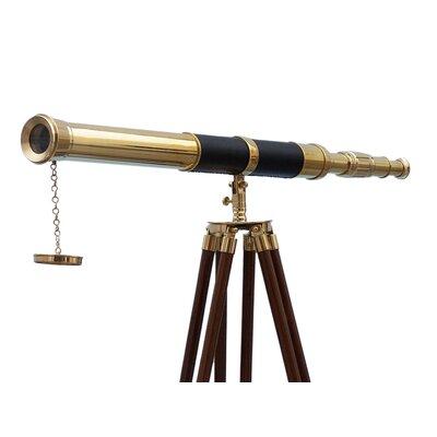Handcrafted Nautical Decor Admirals Refractor Telescope