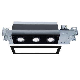 WAC Lighting Silo X20 Engine and Invisible Trim LED Multi-Spotlight Recessed Lighting Kit