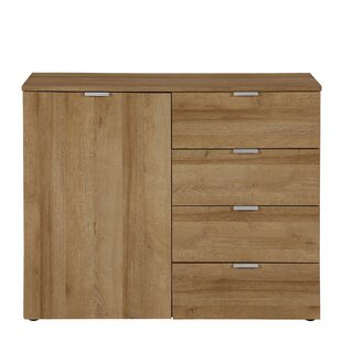 Maddison 4 Drawer Combi Chest By Metro Lane