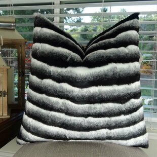 Joyal Chinchilla Faux Fur Pillow