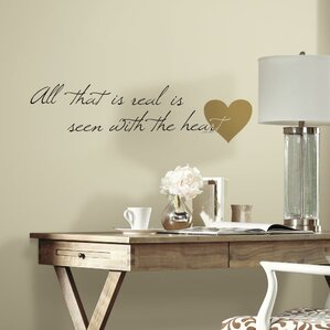 Heart Quote Peel And Stick Wall Decal Part 28