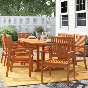 Cadsden 9 Piece Dining Set