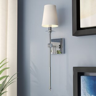 Brunner 1-Light Wallchier by House of Hampton