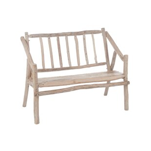 Elmore Wood Bench By Union Rustic