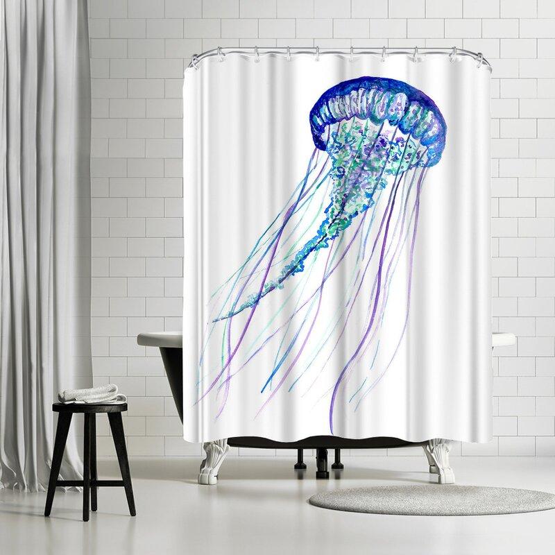 East Urban Home T J Heiser Jelly 1 Single Shower Curtain Wayfair