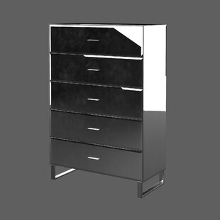 Hal Mirror 5 Drawer Standard Chest