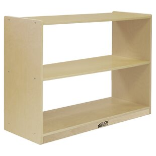 Deep Double Sided 2 Compartment Shelving Unit with Casters by ECR4kids