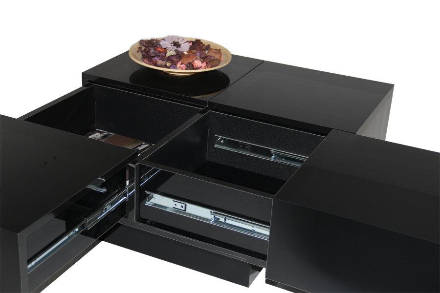 Latitude Run Pickrell Modern Coffee Table With Storage Reviews Wayfair