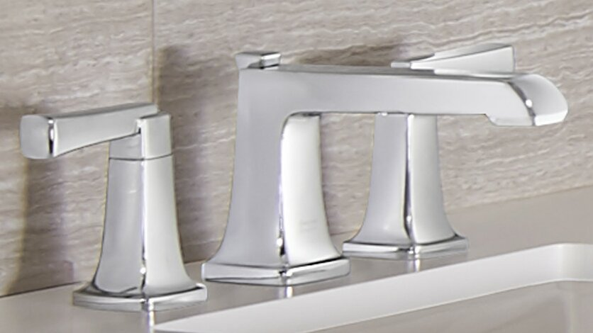 American Standard Townsend Widespread Bathroom Faucet with Drain ...