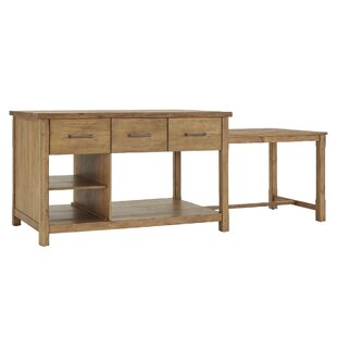 Evelyn Kitchen Island 17 Stories